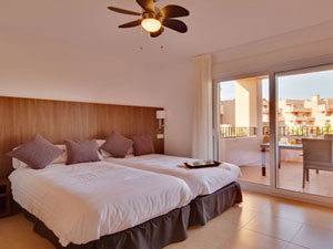 Mar Menor Residences Bedroom